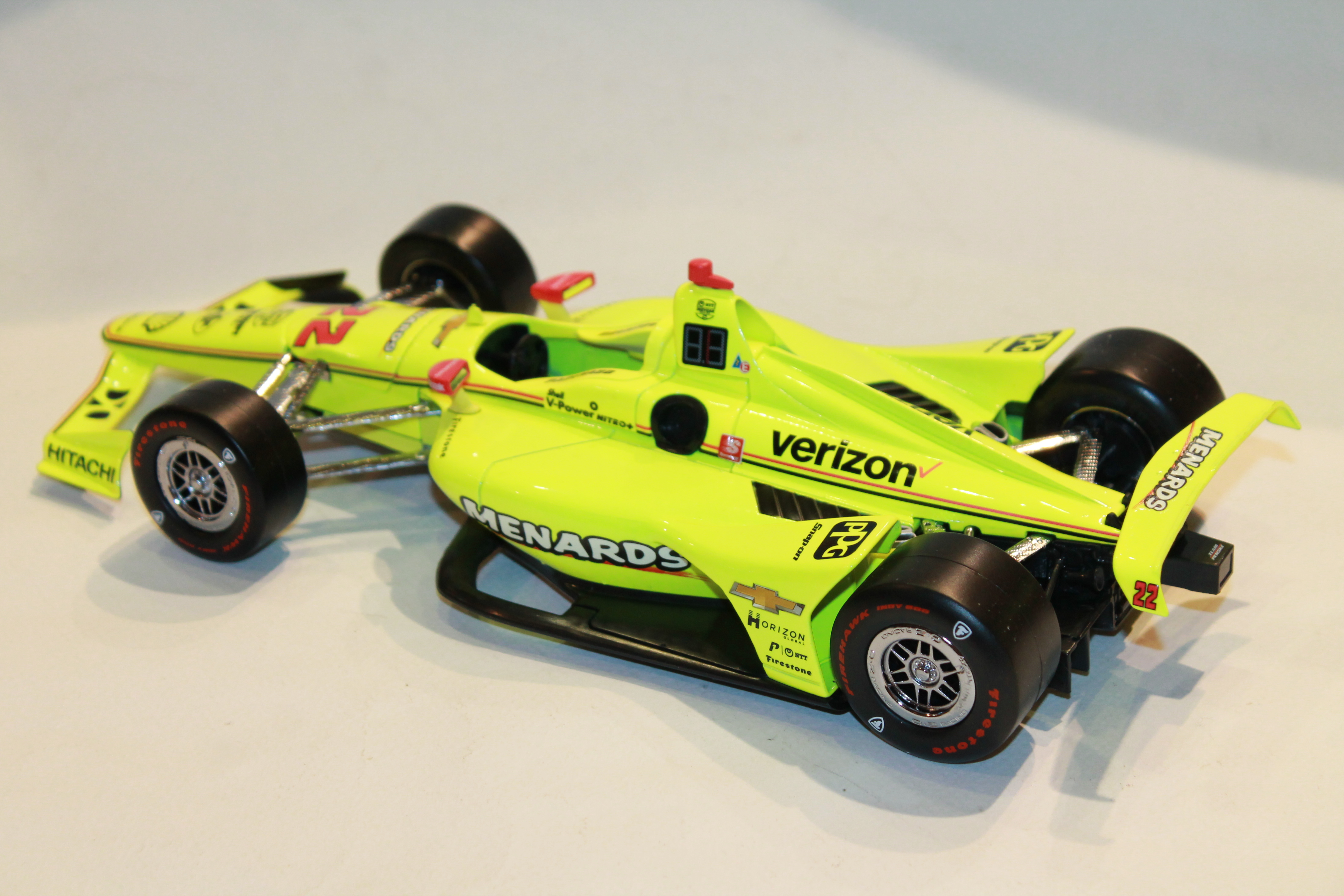 PENSKE N°22 PAGENAUD VQINDY 500 2019 GREENLIGHT 1/18°