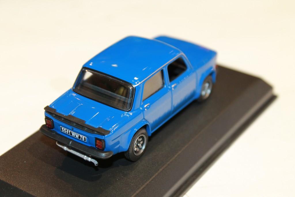 Simca 1000 Rallye 3 Prototype Talbot Bleu 1//43
