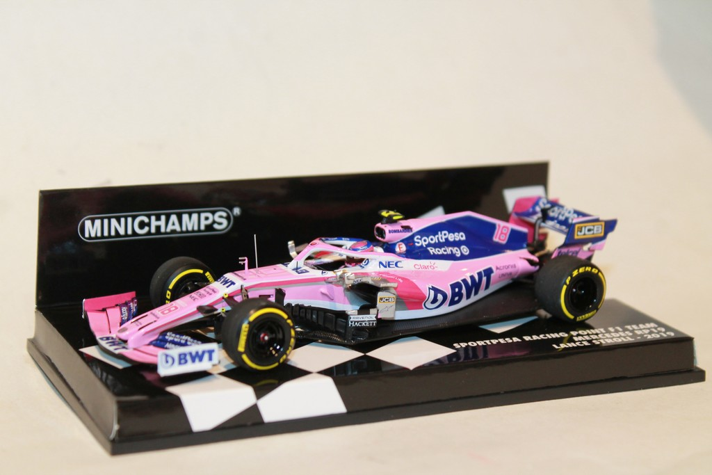 SPORTPESA RACING POINT RP19 N°18 F1 2019 MINICHAMPS 1/43°