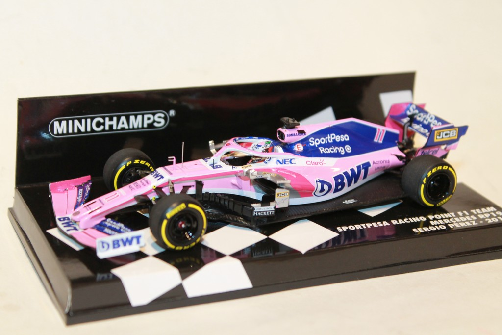SPORTPESA RACING POINT RP19 N°11 F1 2019 MINICHAMPS 1/43°